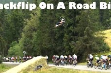 Backflip On A Road Bike